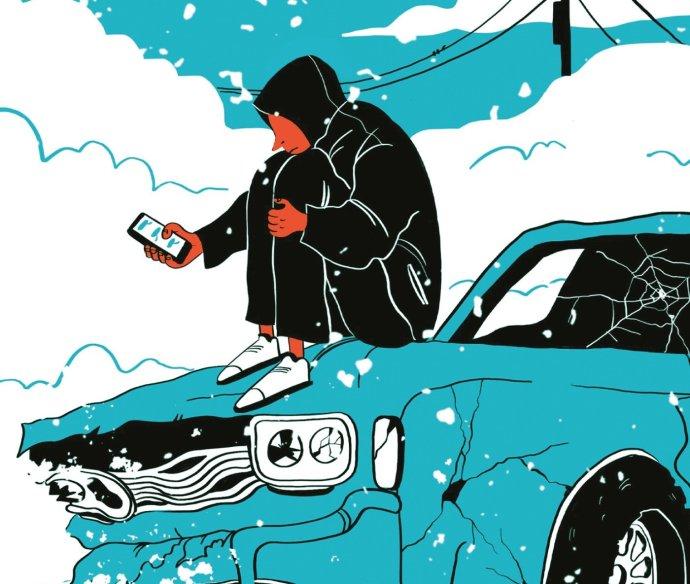Román Farby smútku vyšiel v preklade Veroniky Lašovej vo vydavateľstve CooBoo. Foto - albatrosmedia.sk