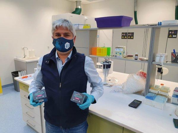 Biochemik Pavol Čekan zo spoločnosti MultiplexDX. Foto – archív P. Č.
