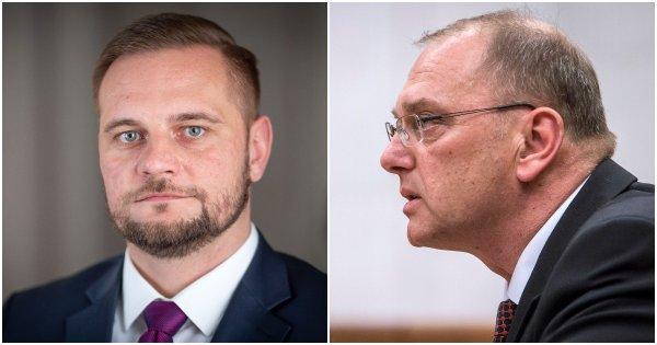 Juraj Káčer a Ľubomír Vážny. Foto N - Tomáš Benedikovič