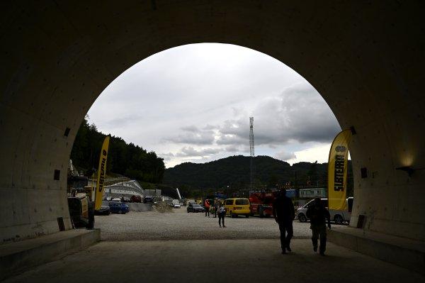 Prerazili tunel Milochov. Foto - TASR