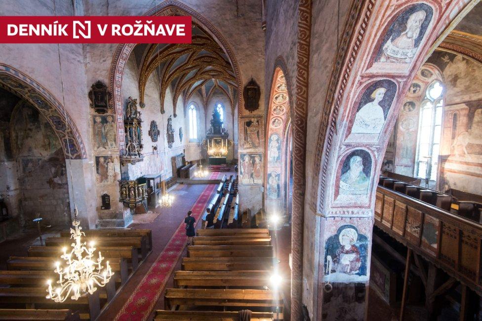 Gotický kostol v Štítniku. Foto N - Vladimír Šimíček