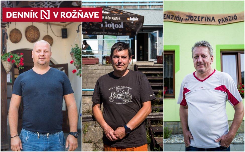 Ondrej Baláž, Milan Tkáčik a Jozef Parditka. Foto N - Vladimír Šimíček