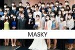 Masky v Japonsku aj na svadbe