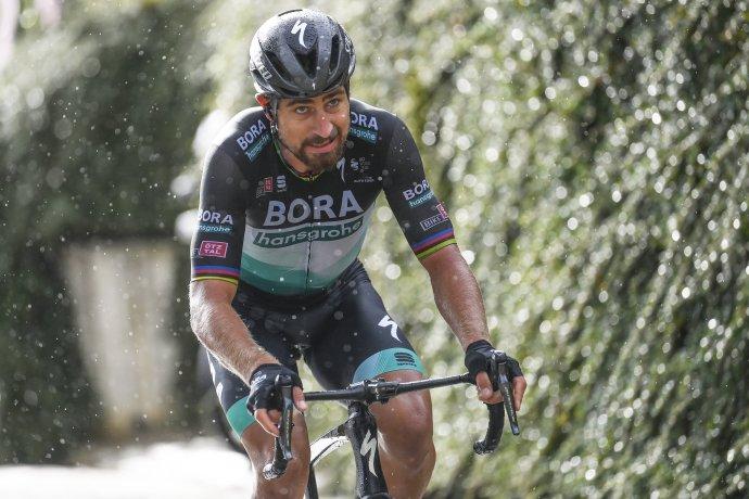 Peter Sagan v 10. etape Gira 2020. Foto - TASR/AP