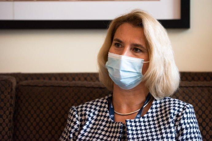 Beata Javorcik. Foto - Globsec