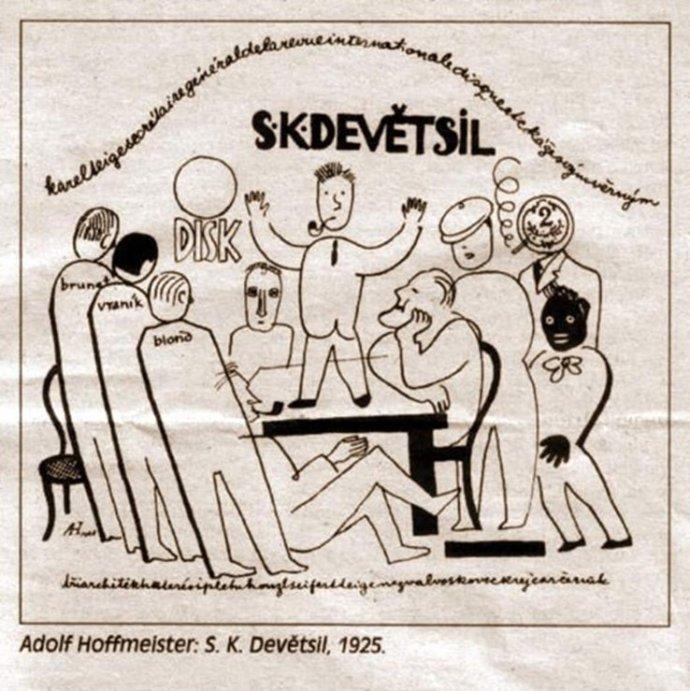 Adolf Hoffmeister: Devětsil
