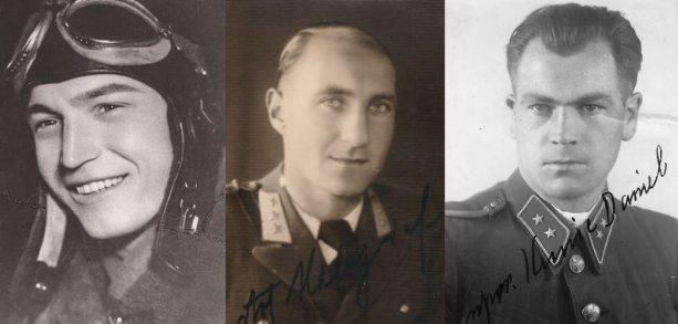 Michal Minka, Ivan Haluzický a Daniel Kunic