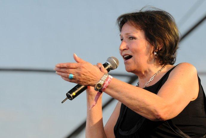 Marta Kubišová na Pohode v roku 2009. Foto - TASR/AP