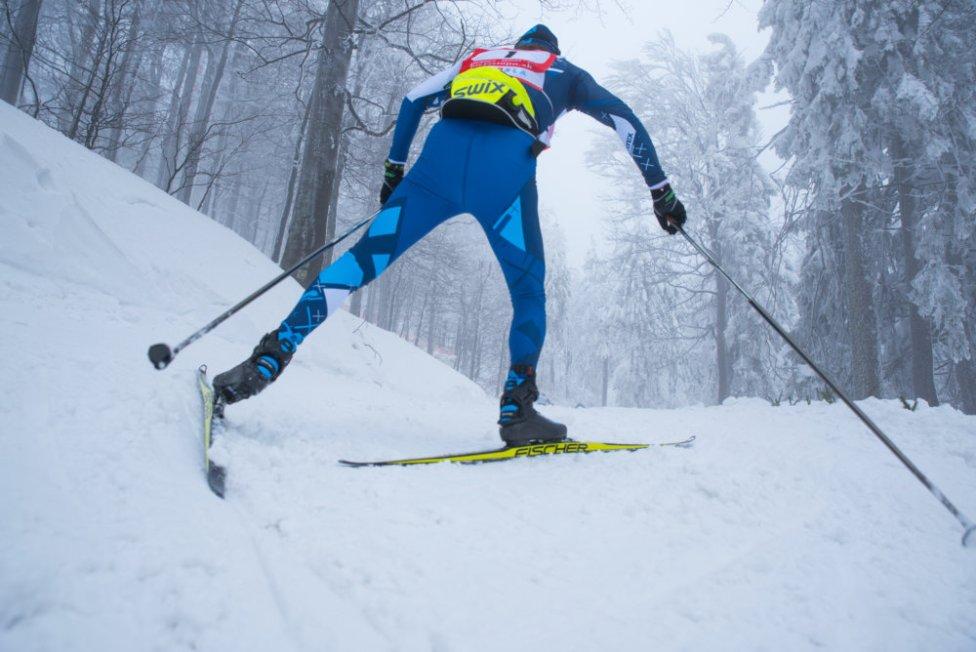 Bežec na pretekoch Biela stopa 2018. Foto N - Peter Kováč