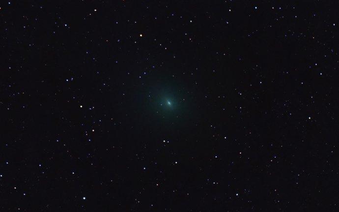 Kométa 45P/Honda–Mrkos–Pajdušáková. Foto – Wikipédia/Cajun Astro