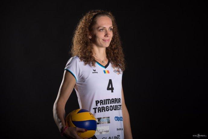 Veronika Hrončeková. Foto - CSM Târgoviște/archív V. H.
