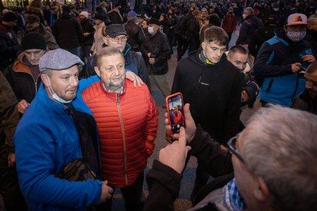 Štefan Harabin na proteste 17. novembra 2020. Foto N – Tomáš Benedikovič