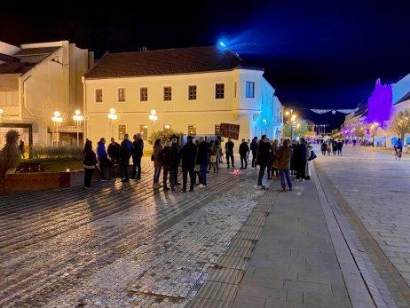 Trojičné námestie v Trnave. Foto – Pavol Jurák