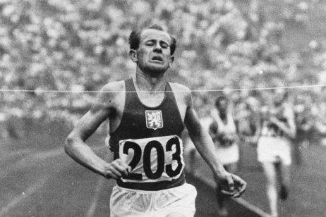 Emil Zátopek v roku 1948. Foto – TASR/AP