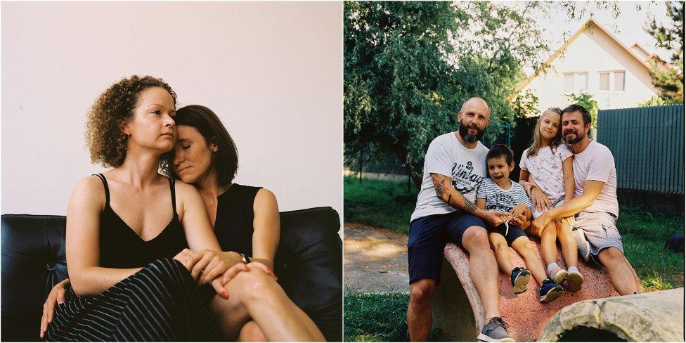 Portréty zo série Neskrývaná láska. Foto - Dorota Holubová