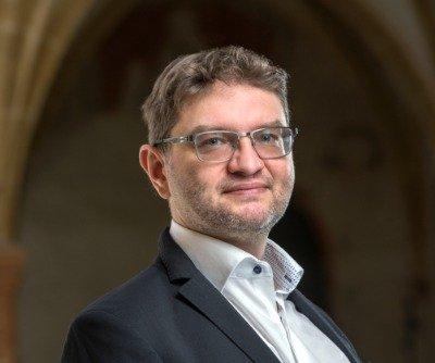 Daniel Novotný pôsobí na Teologickej fakulte Juhočeskej univerzity a je členom Centra Karla Čapka pre výskum hodnôt vo vede a technike. Foto – Centrum Karla Čapka pre výskum hodnôt vo vede a technike