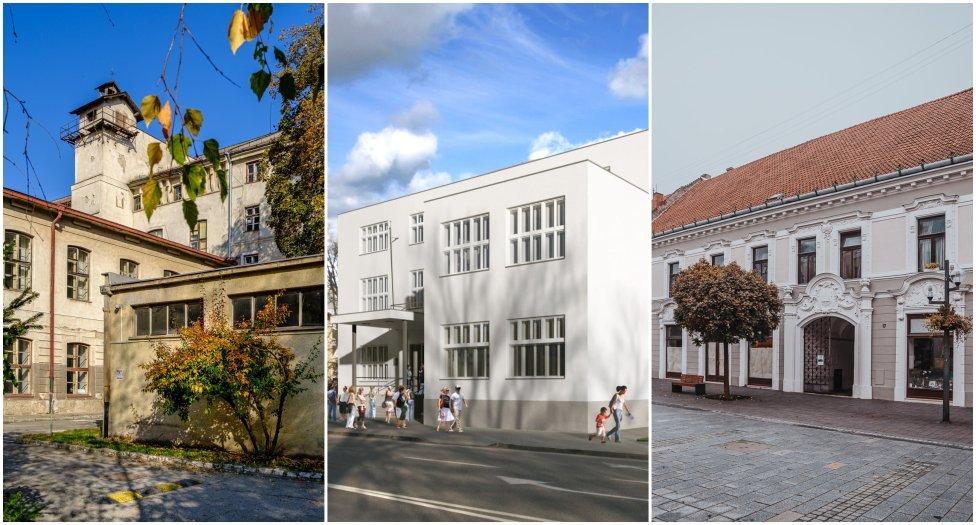 Kreatívne centrá vzniknú rekonštrukciou budov v Košiciach, Trenčíne, Trnave a Banskej Bystrici. Foto - Vlado Eliáš, Trenčín, TTSK