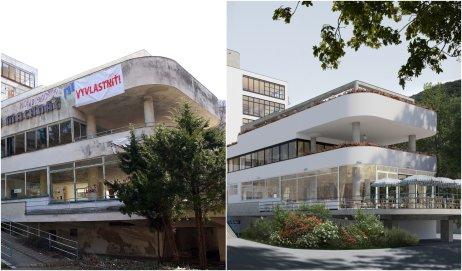 Súčasný stav Machnáča a navrhovaná obnova. Foto – SPK, ateliér ô