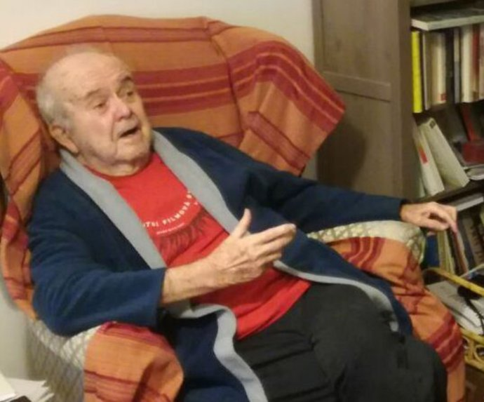 Antonín J. Liehm. Foto - Paměť národa