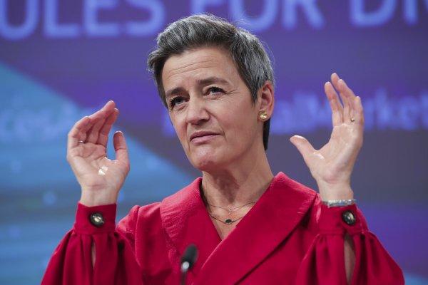 Eurokomisárka Margrethe Vestagerová. Foto - TASR/AP