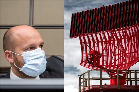 Naď je spokojný s tým, že na vojenské letiská inštalujú nové radary. Foto – ELDIS