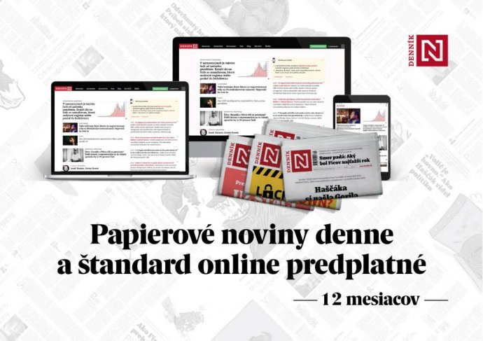 Papierové noviny denne a štandard online predplatné