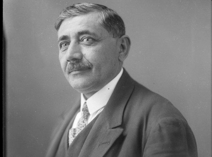 Miklós Molnár, košický župan v rokoch 1918 a 1919. Foto - Zbierka Miklósa Molnára