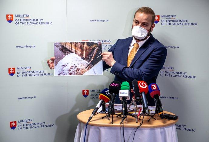 Generálny riaditeľ Slovenskej inšpekcie životného prostredia Ján Jenčo. Foto N - Tomáš Grečko