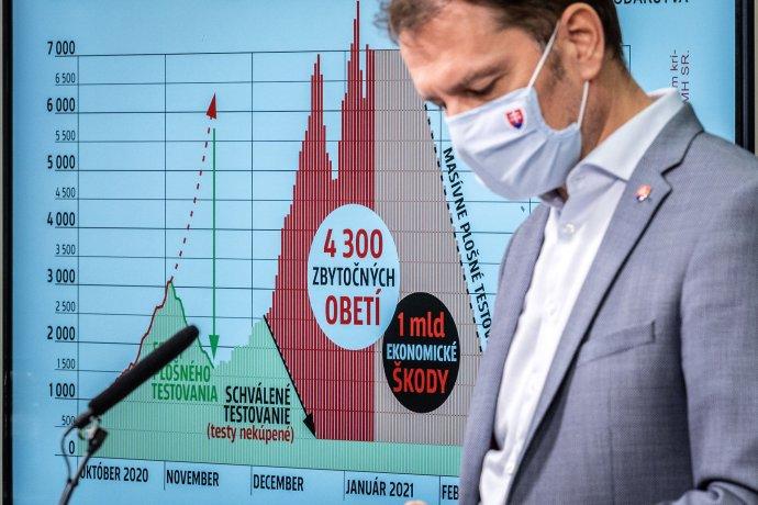 Podľa posledného zverejneného údaja zo soboty mala pandémia na Slovensku už 7075 obetí. Foto N - Tomáš Benedikovič
