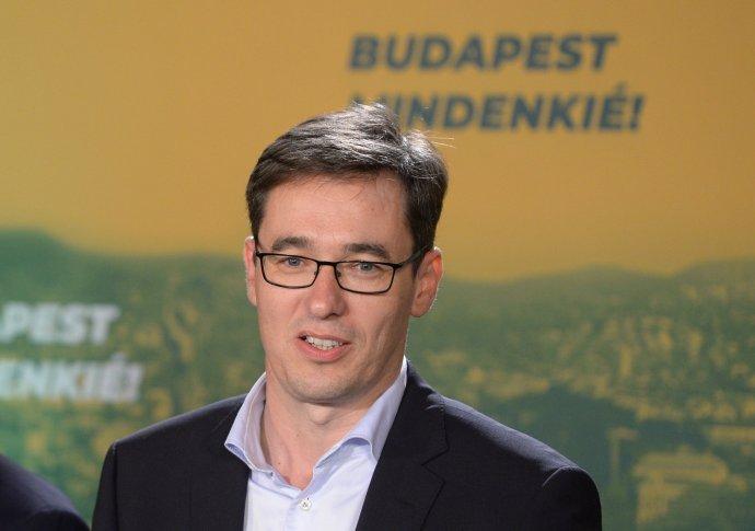 Primátor Budapešti Gergely Karácsony. Foto - TASR