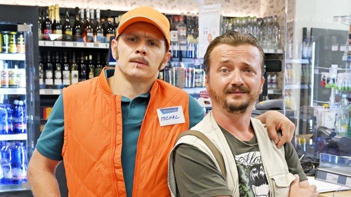 Michal Kubovčík a Dano Heriban v relácii Pumpa. Foto – RTVS
