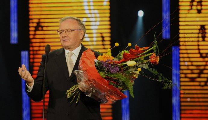 Jozef Vengloš v roku 2011 na Futbalistovi roka. Foto - TASR/Martin Baumann