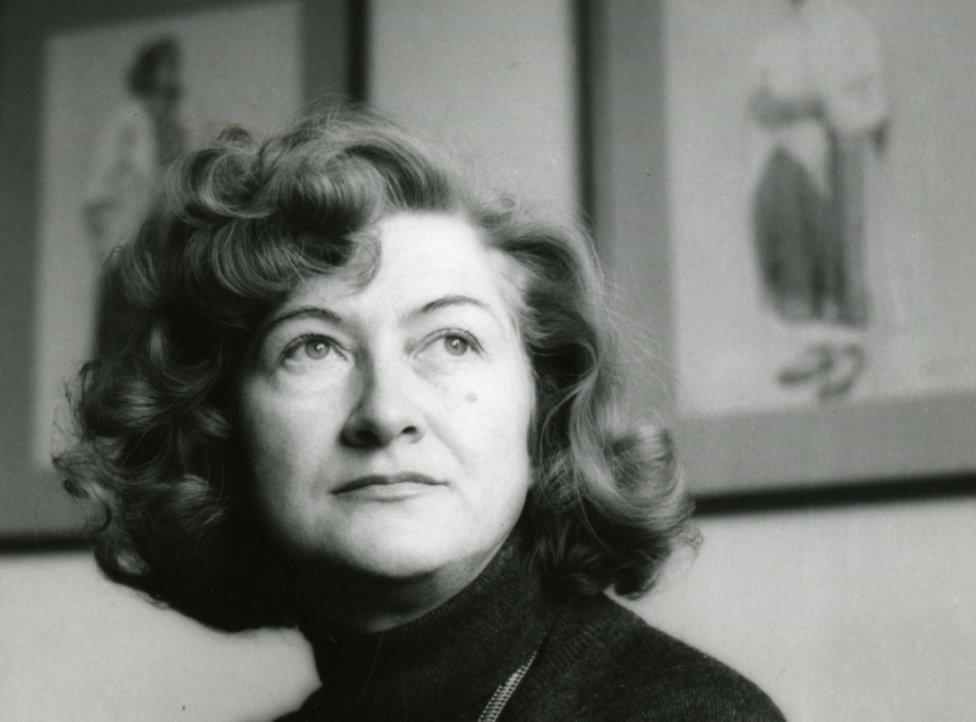 Dizajnérka Viera Líčeníková-Škrabalová. Zdroj - Slovenské múzeum dizajnu