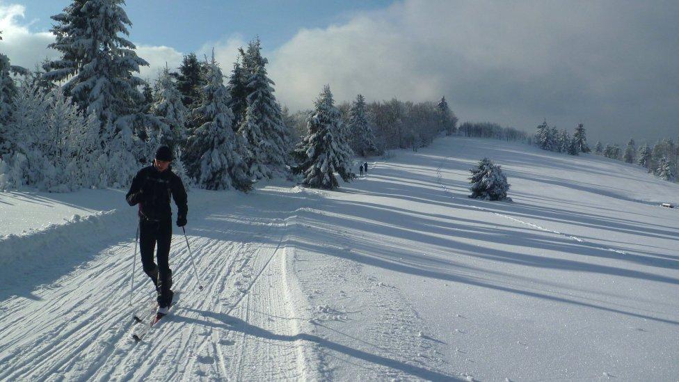 Bežkárska trasa na hrebeni Javorníkov. Foto – Michal Mikuláš