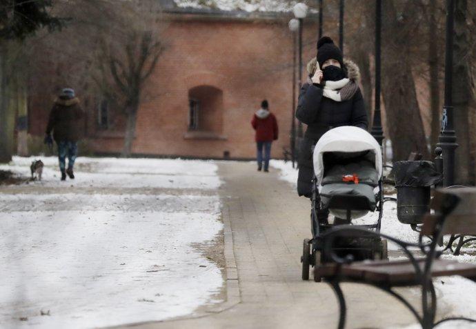 Varšava v januári. Foto - tasr/ap