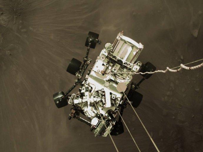 Spustenie sondy Perseverance na Mars. Zdroj - NASA/JPL-Caltech