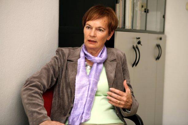 Prof. PhDr. Soňa Szomolányi PhD., je politologička, sociologička, profesorka na Filozofickej Fakulte UK. Archív S. Szomolányi