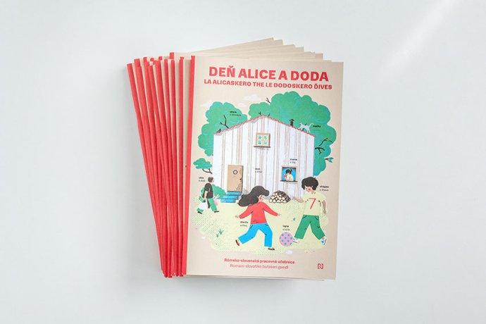 Deň Alice a Doda. Rómsko-slovenská učebnica (balík 20 ks)