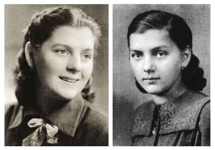 Ludmila Javorová ako dospievajúce dievča. Zdroj - kniha Zdeňka Jančaříka Ty jsi kněz navěky