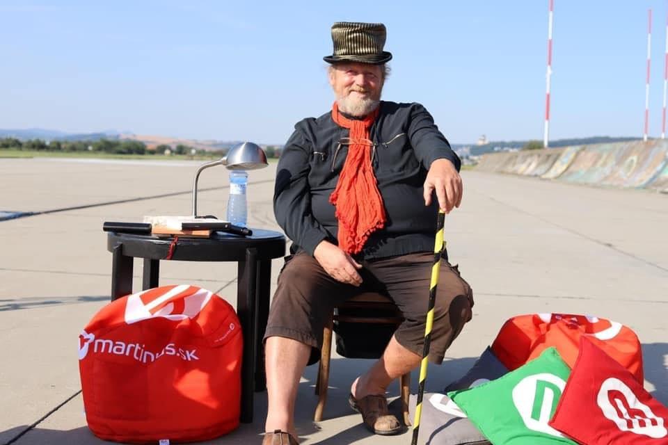 Koloman Kertész Bagala na Pohode On Air v roku 2020. Foto - František Malík/literarnyklub.sk