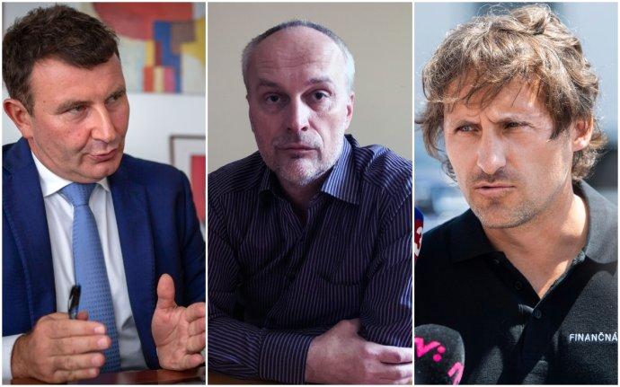 František Imrecze, Pavol Lehotský a Ľudovít Makó. Foto N – Tomáš Benedikovič a Andrej Bán, TASR