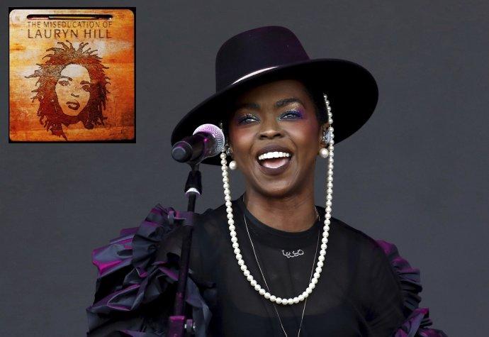 Lauryn Hill počas vystúpenia na festivale Glastonbury 2019. Foto - TASR/AP