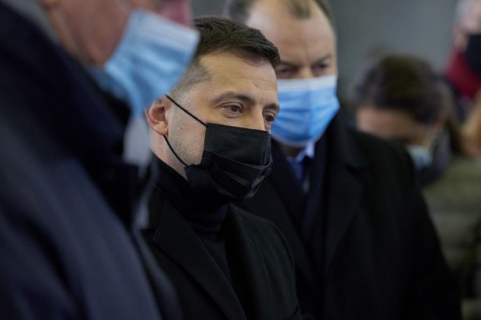 Ukrajinský prezident Volodymyr Zelenskyj. Foto - president.gov.ua