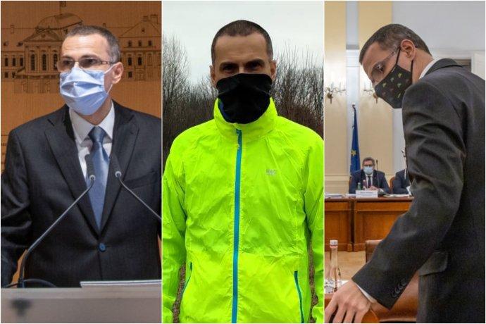 Nového generálneho prokurátora bolo za prvé dva mesiace jeho pôsobenia všade plno. Foto - N/FB Maroša Žilinku