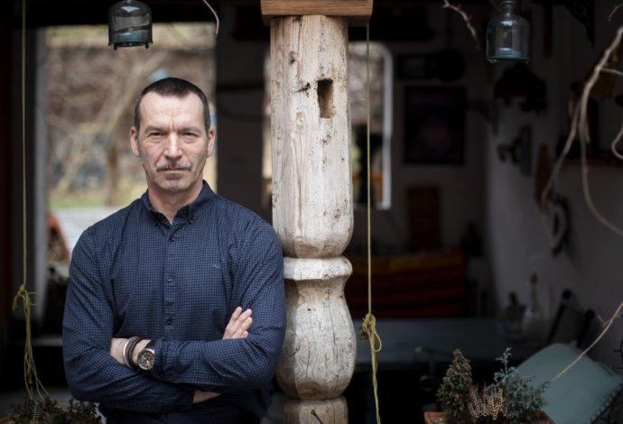 Psychiater Jiří Horáček. Foto - Deník N/Gabriel Kuchta