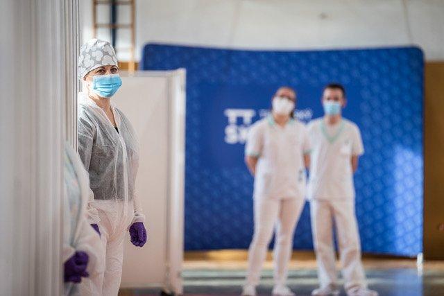 Očkovanie v Trnavskom kraji. Foto - trnavská župa
