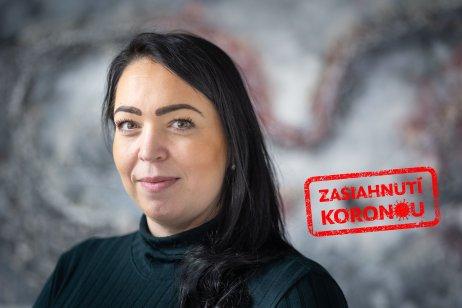 Nora Horváthová, štatutárka sociálneho podniku. Foto N – Tomáš Benedikovič