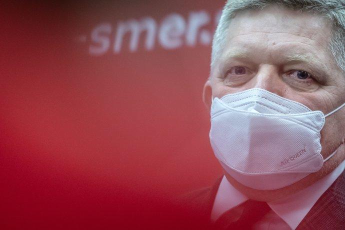 Predseda Smeru Robert Fico. Foto N - Tomáš Benedikovič