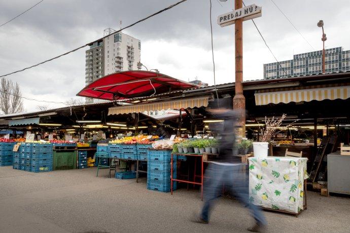 Trhovisko Miletičova. Foto N - Tomáš Benedikovič