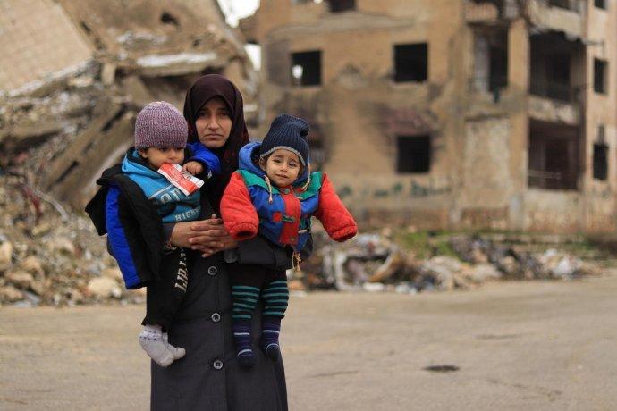 90 percent sýrskych detí potrebuje humanitárnu pomoc. Foto – UNICEF